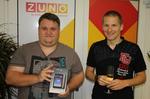 Tablet ASUS v soutěži se ZUNO a naším serverem předán vítězi