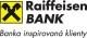 ZÁKON - Raiffeisenbank umožní získat výpisy zdarma i klientům bez internetového bankovnictví