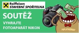Pozor, poslední 2 dny!  Vyhrajte digitální zrcadlovku Nikon!
