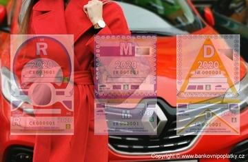 Elektronická dálniční známka, konec polepeným oknům