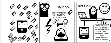 134. DÍL - Ideální banka 21. století: V ideální bance jsou všichni spokojení a šťastní. Hlavně klienti